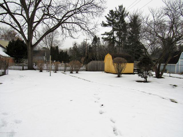 1432 N Harrison Rd - Back yard - 31