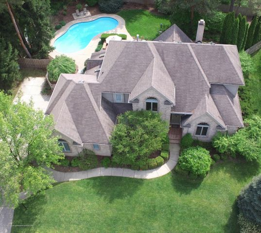 6431 Woodcliffe Ln - AERIAL VIEW - 1