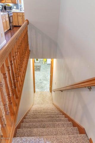 2425 Bush Gardens Ln - Stairway to Lower Level - 7