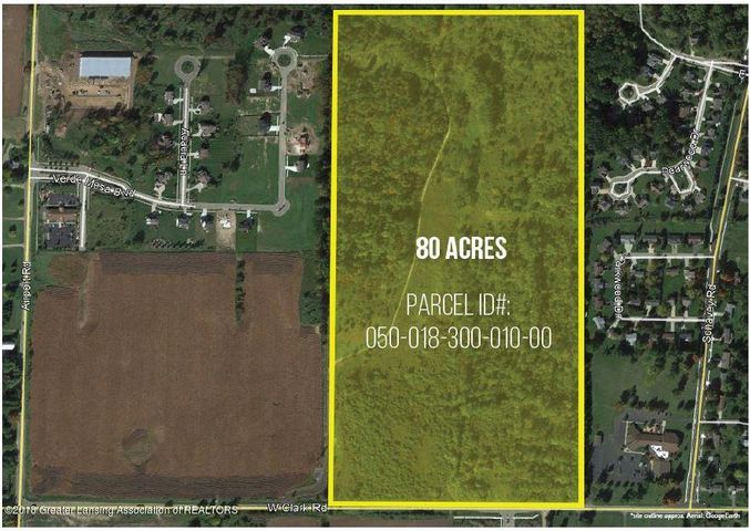 3500 W Clark Rd - 80 Acre Outline - 1