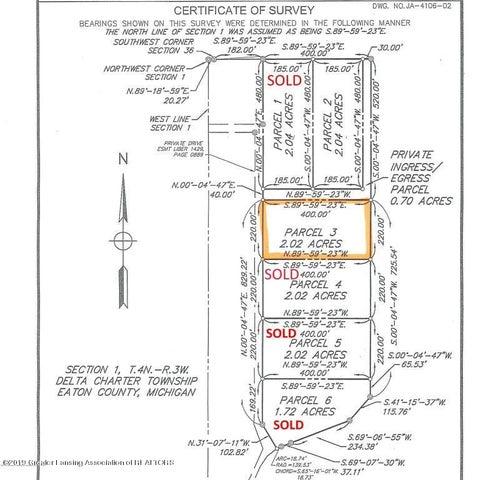 Lot 3 Trillium Drive, Lansing, MI 48906