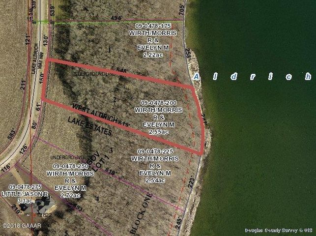 Lot2 Blk1 W Lake Aldrich Way, Brandon, MN 56315