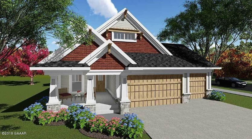 Sample of exterior - this is a plan purchased from Architectural design -- other floor plans available.