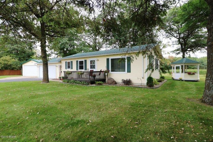 Updated 2BR, 1BA home situated on 2.83 Acres!