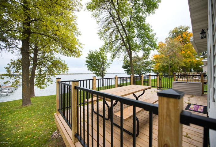 The view from your deck is incredible!