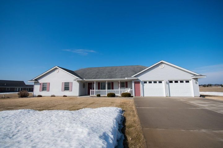 Come enjoy the views on this stunning 4 bed,2bath patio home located on the Lynx National Golf course just south of Sauk Centre. This home has everything your looking for. Real hardwood floors, walk in closet, sun room view of the course, sprinkler system, heated shop, and a well maintained 1 plus acre lot. A true must see!