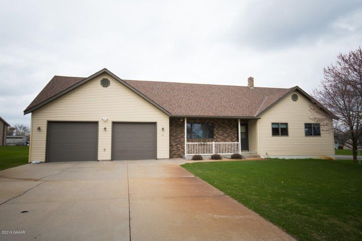 First time offered one-owner! Built in 1995, here is a 3 bed 2.25 bath Rambler style home on a large .54 Acre lot on Hoboken Hill in Sauk Centre. Property Features: Oversized 27x34 2 stall attached garage, 15x20 storage shed, in-ground sprinkler system, Drilled Well, Steel Siding, Roof in 2012, 3 main level bedrooms, Main Floor Laundry, large unfinished lower level ready for your ideas!