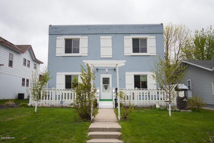 Built in 1939 here is a 4 bed 2 bath 2 Story home located near the Public School, Parks and Shopping in Sauk Centre. Property features: New Windows, Roof, Heat Pump, updated Kitchen, master bedroom on main level w/ master bathroom, main level laundry & Large 34x38 Garage.