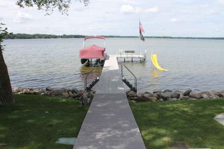 LEVEL lakeshore literally right out your back door!  Beautiful totally remodeled 5 Bedroom 3 Bath Lake Home on lake Ida.  The sellers have taken such great care of this home and it shows, and the views from the house are spectacular. Lake Ida is one of the most desirable lakes in our area!  Lake Ida is great for swimming,  boating,  fishing or just simply being on the water. Just imagine yourself sitting on the deck looking at the Lake while drinking your coffee. This is the home for you!