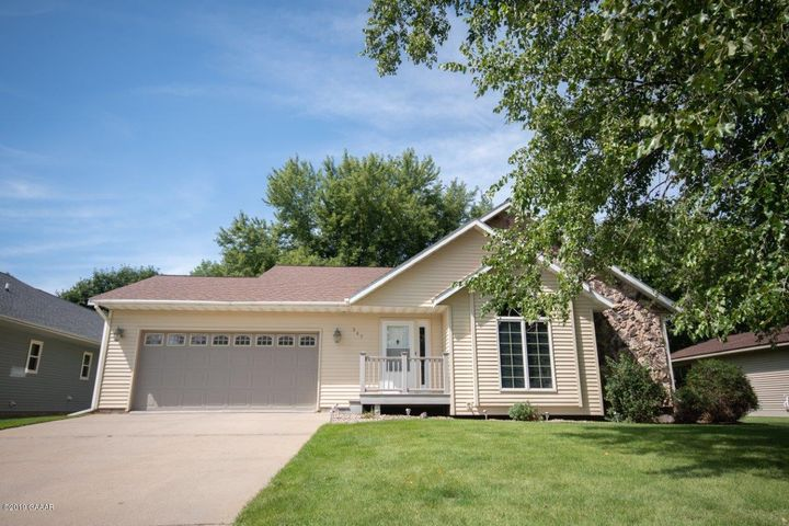 Built in 1989, here is a beautiful 3 bed 2 bath rambler style home w/ Finished basement on a .28 Acre Lot near Meadowlark Golf Course in Melrose. Property features: Lawn Sprinkler system, Deck off Dining Room, 22x24 2 Car attached garage, Steel Siding, Central Air, 3 Bedrooms on Main Level, Main Floor Laundry, Open Living/Dining/Kitchen Plan, Finished Basement with Living Room, Bath, possibility of 4th bedroom (needs egress) and additional large all-purpose room.