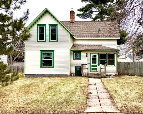 This ''flipper'' offers 4 bedrooms & 2 baths with turn of the century charm.  You'll appreciate the woodwork and character this property has to offer.  Newer windows on the upper level, new shingles and a fenced in backyard allows privacy and the location puts you within walking distance of schools, churches, and retail.  Property sold ''as is''.