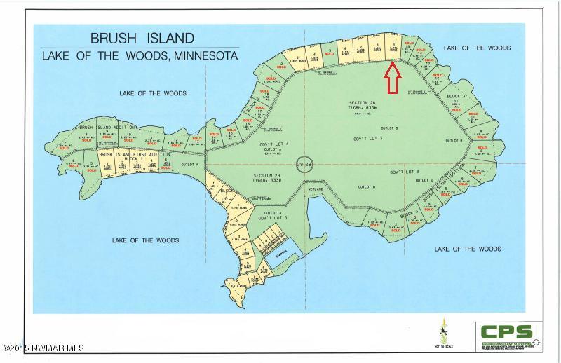 Brush Island, Northwest Angle, MN 56711