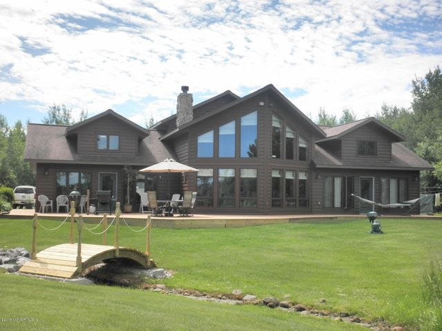 Front of the house and deck