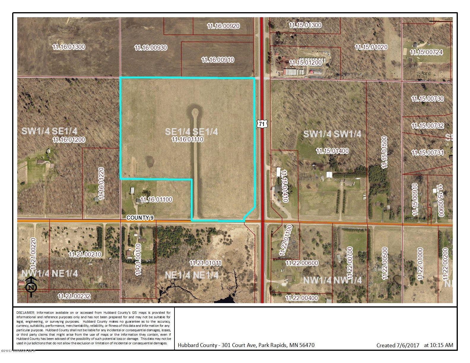 County 9 & HWY 71 Road, Bemidji, MN 56601
