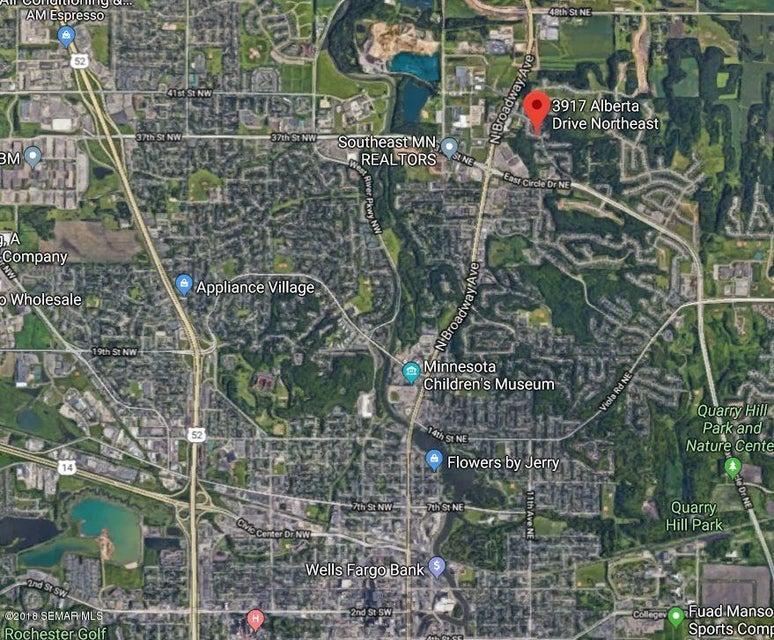 3917 NE Alberta Drive NE Drive Rochester, MN 55906 - MLS #: 4087551