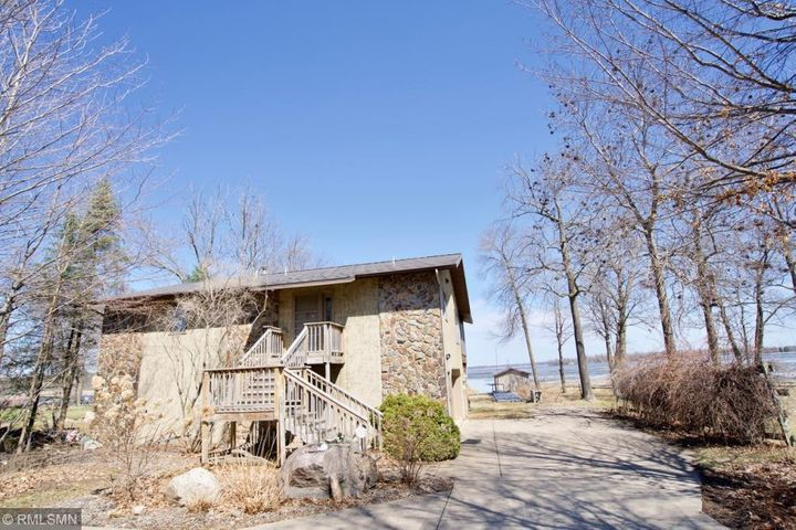 Charming 3BR/3BA two story home w/picturesque views of Mille Lacs Lake!