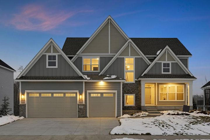 Welcome to Hanson Builders West Point Sport! Photo of a similar home.
