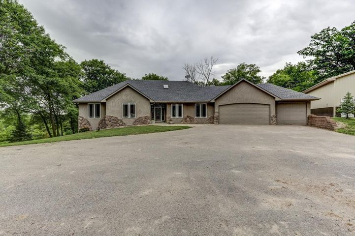 Sprawling 5 bed / 4 bath rambler situated on 12.5 acres of beautiful private country side!