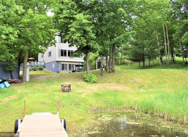 Park-like Setting with this Perfect Size Cedar Lake Home!
