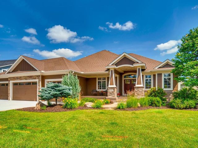 Enjoy sitting on the Covered Front Porch. 4-Car Garage with new floor. New Cement Driveway