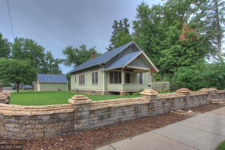 1920's charming bungalow on a corner lot on a quiet dead end street near the Red Wing Golf course.
