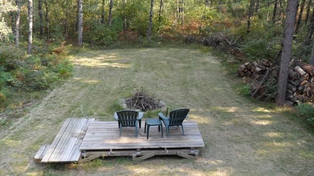Back yard deck/firepit