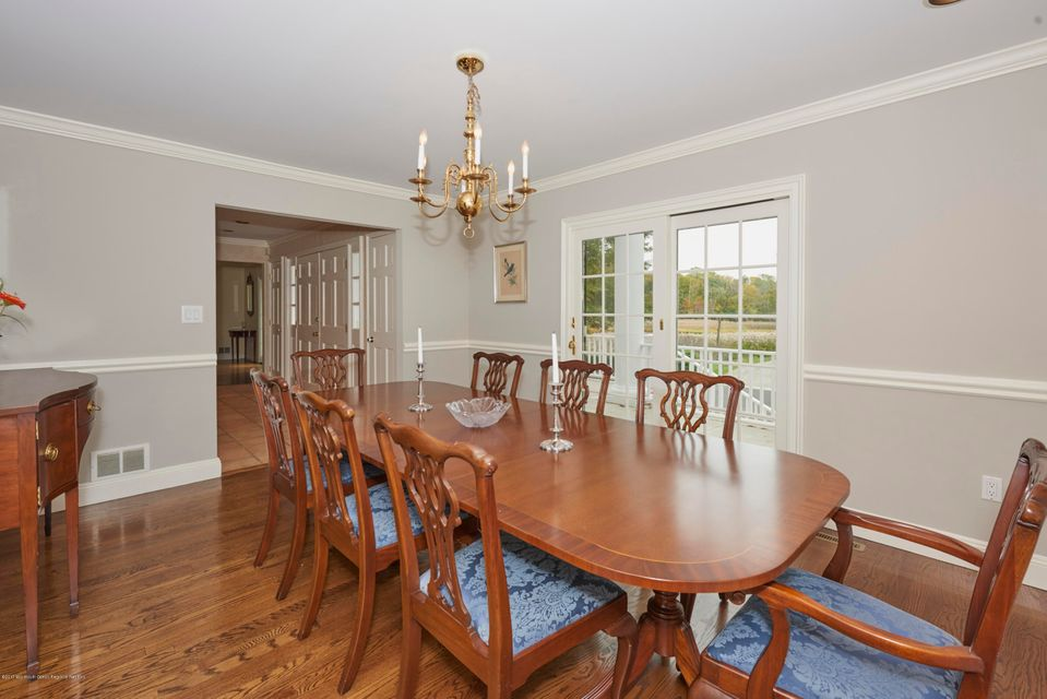 Dining Room opens to Foyer