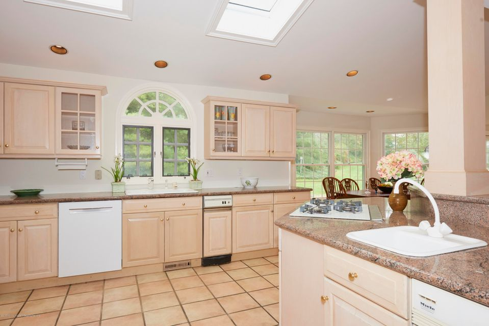 Kitchen sinks and window
