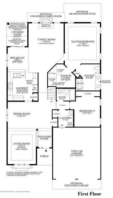 Hammon first floor plan