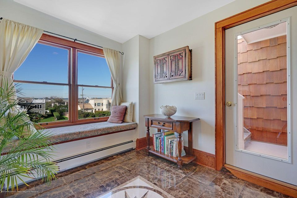 window seats throughout the home