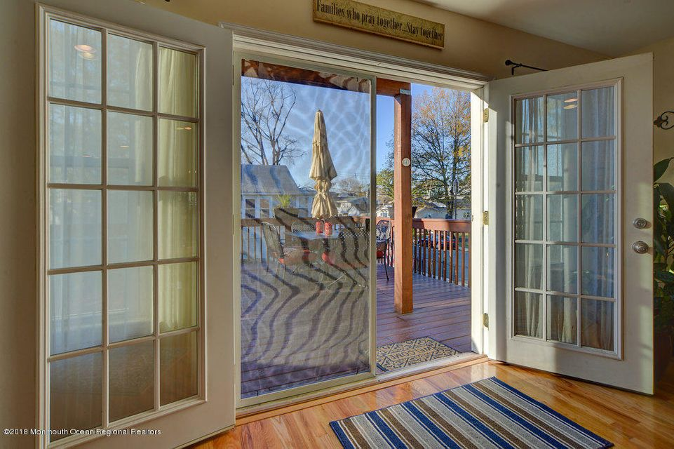 French Doors to Porch