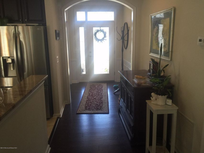 Front door and entrance foyer