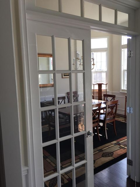 French Doors off Hallway to Dining Room