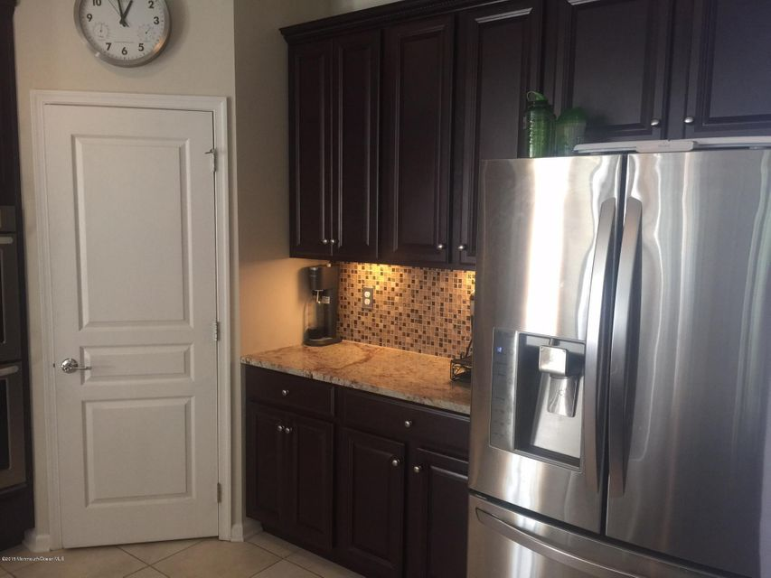 Kitchen pantry and granite counter