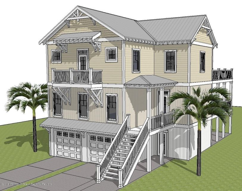 New construction homes in brick nj for Shore house plans