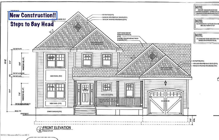 LOCATION LOCATION ! Brand new constructions just steps to Bridge Ave and Bay Head!