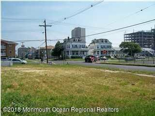 """You can't get much closer to the ocean! The vacant lot at 300 6th Avenue is 100' x 35' and sits in the R2 zone. This means that as of right, a 2 family structure can be built with an 1150 SF foundation. An additional unit(s) can be obtained by requesting a variance, and It is noted that the neighboring structures along the 6th Avenue side of the lot have more than 2 units, therefore the variance request is feasible.    The required setbacks on this lot are 25"""" along the north and south property line, and, 8' along the east and west property line. Thus, a foundation of 23' x 50"""" can be built as of right, without variance. All information must be verified by the Asbury Psrk Zoning office."""