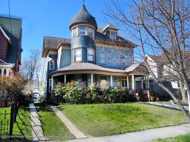 SUMMER RENTAL (STR permit #2018-0160)Create great memories in this grand Victorian home just 4 blocks to the exciting Asbury Park beach and boardwalk.  Short walk to Cookman Avenue.  Features include a large wrap around porch, large deck and backyard, spacious dining room, den plus beautiful breakfast nook in glass atrium, outdoor shower, 8 bedrooms and 3 1/2 baths with large cooks kitchen plus more.  May - June $5,000 per week.  4th of July week $5,750.  $1,500 security deposit.  $250.00 cleaning fee.