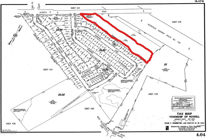 Possible 4-5 (maybe up to 10) lot subdivision on Aldrich Road.  Zone R-3