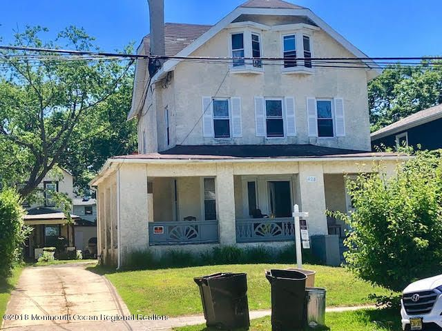 In the heart of Asbury park... This 4 family home w 3-2 bedrrom and one 3 bedroom. driveway and 2 car garage. This house has endless potential..