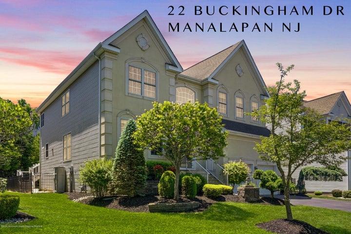 22 Buckingham Drive, Manalapan, NJ 07726
