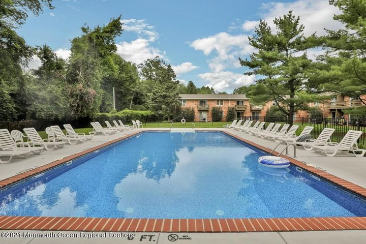 Enjoy the recently updated complex pool all summer long that is tucked away in the most private wooded section of the complex.