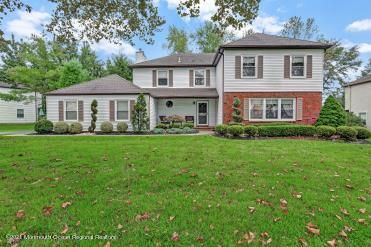 Front of home has great curb appeal
