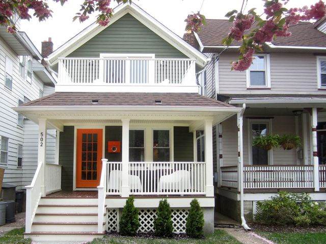 RENTED THRU 2/28/2021.  AVAILABLE MARCH - MAY @ $2800/month.  SUMMER 2021-JUNE $6K/JULY $7K/AUG $8K .Enjoy this amazing fully restored 3 bedroom/1.5 bathroom furnished cottage. This house features 2 large decks for sunning, dining and relaxing, a fully equipped chef's kitchen, W/D, large walk in shower, vaulted ceilings, ample storage throughout, outdoor shower and gas grill.  4 blocks to Asbury Park's beach and boardwalk. Three blocks to the lively downtown, great shops, art galleries, amazing restaurants and fun nightlife.  You can get off the train, walk to your house, beach & downtown.  Utilities, cable & wi-fi included.  Pet friendly.  Great location.  A must see!