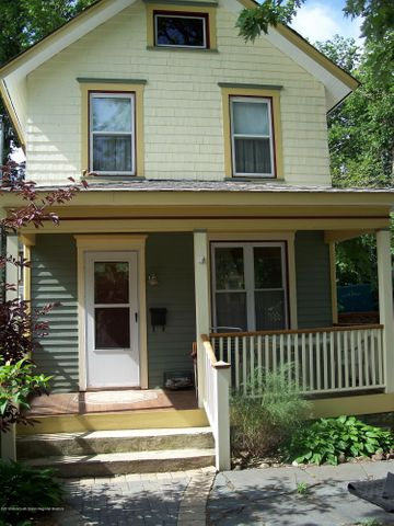 SUMMER/WINTER RENTAL!  Enjoy all that exciting Asbury Park has to offer from this charming 2 bedroom/1 bath 'Mermaid' Cottage.  House boasts tasteful vintage decor, fenced patio, grill, outdoor furniture for 'al fresco' dining.  Covered open air front porch, central AC, washer/dryer in house,  wood burning fireplace, hardwood floors,  2 flat screen tvs & updated fully equipped updated kitchen.  Off street parking for 2 cars and use of 1/2 of 7th Ave beach locker.  Easy walk or bike ride to beach, boardwalk, downtown, shops, restaurants, bars and breweries.  Pets considered on a case-by-case basis.  JUNE-$7K /mo JULY-$8K /mo AUG-$9K /mo.  ( Weekly options available.)  FALL/WINTER- $2500/mo.STR license #2019-0016