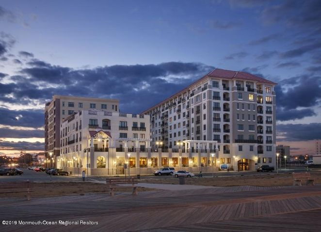 Gorgeous state of the art  condo in sought out Northbeach,  offering sweeping views of the ocean, beach and historic Asbury Park from your balcony and windows. This desirable 6th floor 2 Bedroom, 2 bath Condo which features a newly remodeled custom kitchen,includes granite countertops,lighted stainless steel & glass upper cabinets,white shaker lower cabinets,,mosaic backsplash tiles,Samsung appliances,and a large walk-in pantry.  The MBR has a new walkin closet and luxurious MBTH, relaxing soaking tub,double granite vanity,spacious shower. This unit is gorgeous and a pleasure to show..