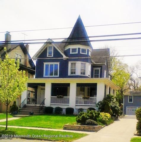 Two level 2 bedroom apartment on second and third floor in charming Victorian house with view of Deal Lake. Living/dining area, kitchen, full bath, bedroom and washer/dryer on second floor and second bedroom, den/office, walk-in closet on third floor.  One assigned off-street parking space.  All utilities included.