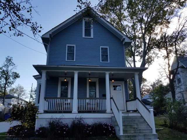 WINTER RENTAL -Live in luxury in this professionally decorated and completely restored spacious, bright and clean 5 bedroom/4.5 bath home.  Features include large open concept entertaining eat-in kitchen / living room, hard wood floors thru out, 1st fl bedroom w/ en suite full bath, master and 2nd fl bedroom each has en suite full baths, 2nd floor laundry room, 3 zone HVAC, large deck and grill if weather permits, private fenced in yard and parking for 4 plus cars on concrete driveway.  Well located as only a short ride or walk to Asbury Park downtown, beach, boardwalk, shops, restaurants, breweries, galleries and train station.  $3,950/month includes gas, electric and water.  Tenant pays $150/month for cable/wi fi.  Dogs considered on a case-by-case basis for an additional fee.