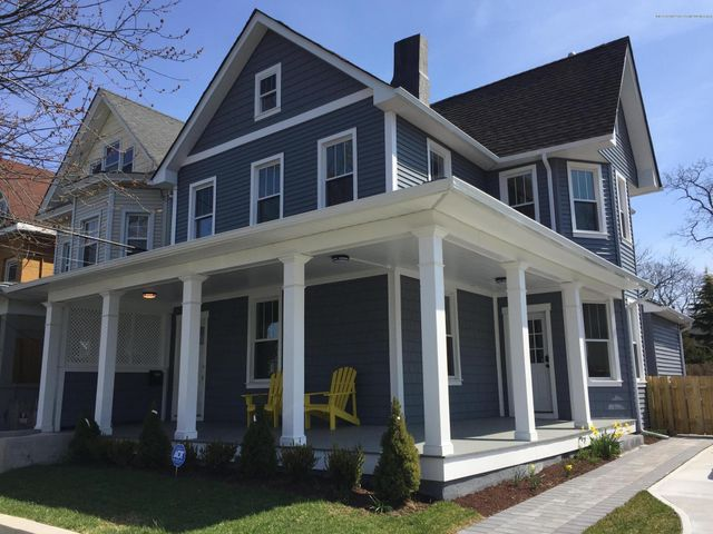 RENTED NOW THRU 12/31/2020.  AVAILABLE JAN-APRIL WEEKLY @ $2100 and MONTHLY @ $3500.  MAY-JUNE WEEKLY @ $2800 SUMMER 2021-JULY or AUGUST @ $12K per month.  Create lasting memories in this beautiful  3 bedroom/ 3 full bath shore house that has been completely updated throughout.  Enjoy all new hip and modern decor and furnishings,  memory foam beds, fully equipped kitchen, wrap around front porch, back yard complete with grill & table for entertaining, central AC, washer/dryer + parking on driveway for 2 plus cars.  Short walk to exciting downtown Asbury Park, beaches, boardwalk & train. Sleeps 8:  (2) queen beds, (1) full bed and (1) full bed in pull out sofa.