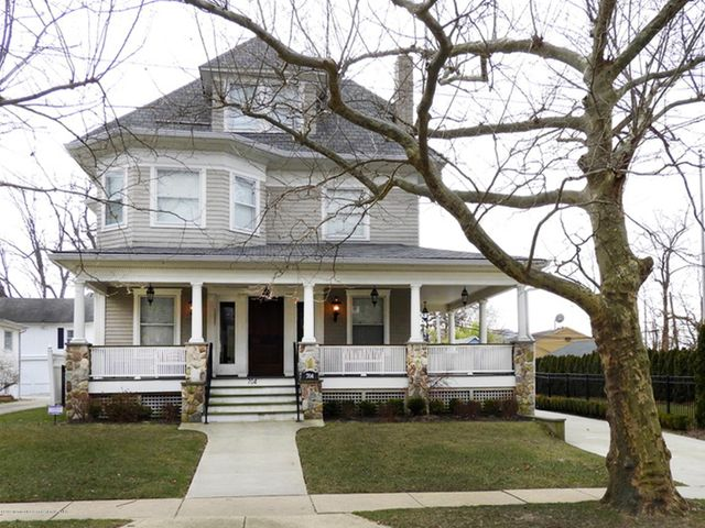 SUMMER RENTAL:  Create lasting family memories and enjoy a dream vacation in this MAGNIFICENT and LUXURIOUS 7 bedroom, 5 1/2 bath house.  Features include a wrap around front porch, large open concept living on the first floor ,  sunny living room with fireplace and amazing architectural details, chef's entertaining kitchen with adjoining dining room that seats 12, adjoining family room with wrap around sliders that lead you out to your 2 level deck, pool with fountains, grills and yard.  The pool house features an 8 person Jacuzzi, 8 person sauna, a car wash shower, pool table, wet bar with dining area and a gym outfitted for a complete work out.  Short walk to beach, boardwalk, shops, restaurants. JUNE-$30K / JULY-$40K /AUGUST-$40K